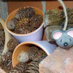 Insektenhotel-Maus