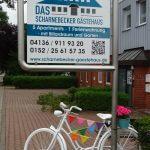 Schild.neu mit Fahrrad